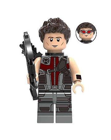 Boneco Gavião Arqueiro Lego Compatível - Marvel