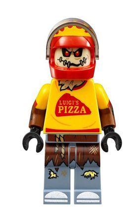 Boneco Compatível Lego Espantalho Motoqueiro - Dc Comics