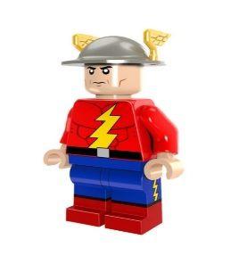Boneco Compatível Lego Jay Garrick - Dc Comics