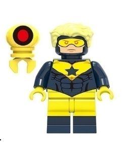 Boneco Compatível Lego Gladiador Dourado - Dc Comics