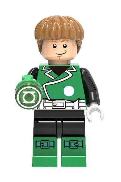 Boneco Compatível Lego Lanterna Verde Guy Gardner - Dc Comics
