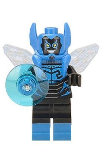 Boneco Compatível Lego Besouro Azul - Dc Comics