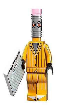Boneco Compatível Lego Borracha - Dc Comics