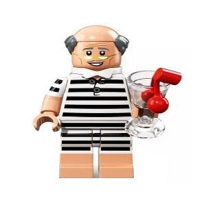 Boneco Compatível Lego Alfred Roupa de Praia - Dc Comics (Edição Especial)