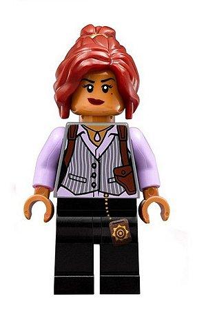 Boneco Compatível Lego Barbara Gordon - Dc Comics