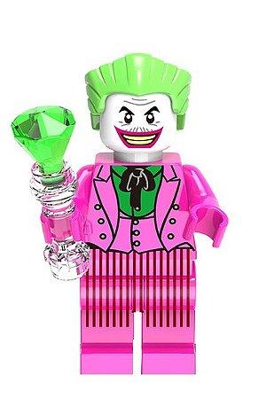Boneco Compatível Lego Coringa Tradicional - Dc Comics