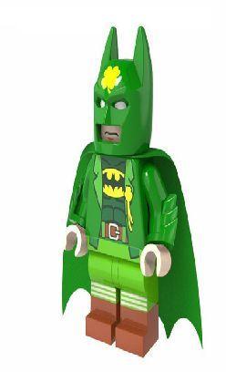 Boneco Compatível Lego Batman São Patrício - Dc Comics (Edição Especial)