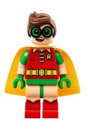 Boneco Compatível Lego Robin - Dc Comics