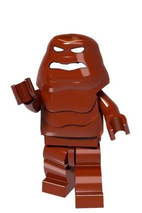 Boneco Compatível Lego Cara de Lama - Dc Comics