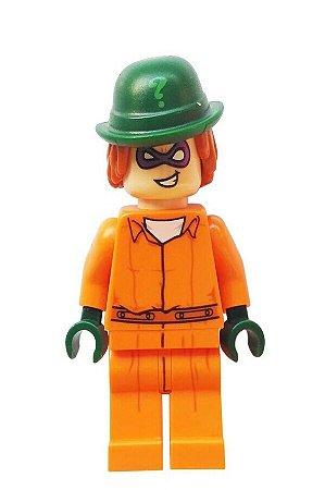 Boneco Compatível Lego Charada Prisioneiro - Dc Comics (Edição Especial)