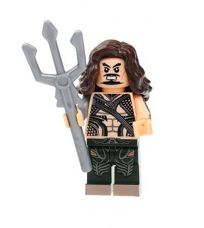 Boneco Aquaman Lego Compatível - Dc Comics