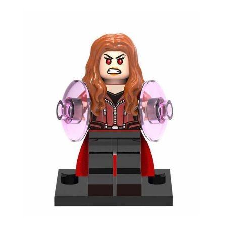Boneco Feiticeira Escarlate Lego Compatível - Marvel