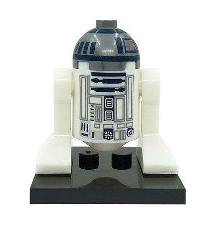 Boneco R2D2 Star Wars Lego Compatível