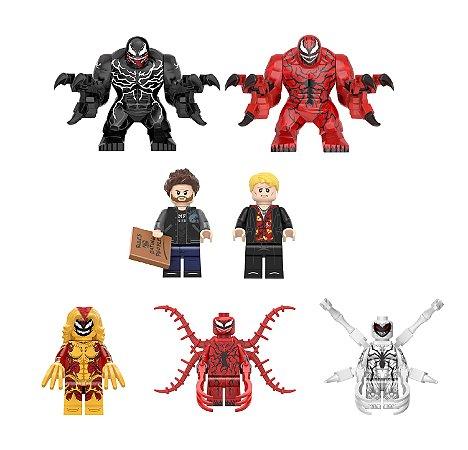 Kit Venom Tempo de Carnificina Lego compatível C/ 7