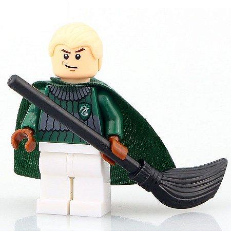 Mini Figura Compatível Lego Draco Malfoy Saga Harry Potter