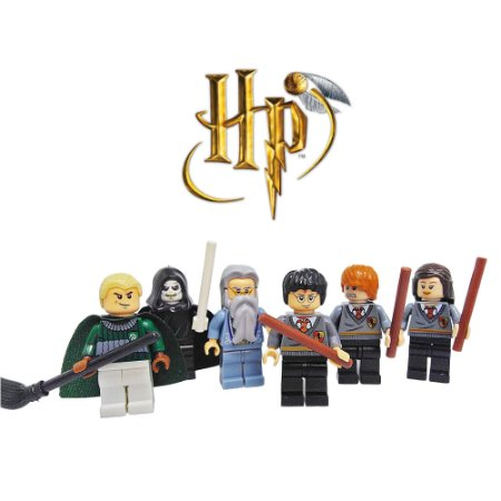 Kit Compatível Lego Harry Potter c/ 6