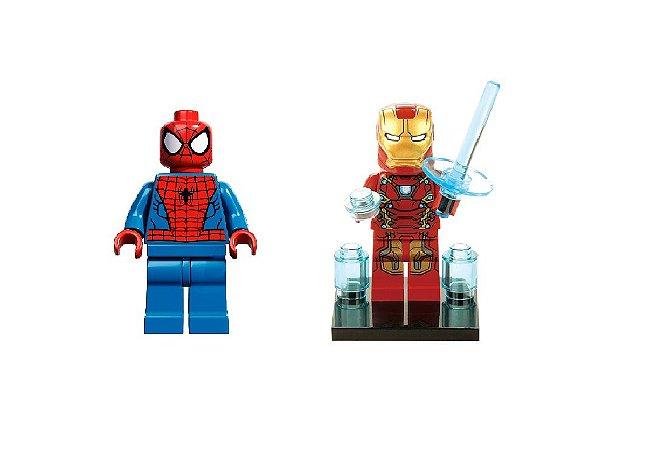 Kit Marvel Promo - Homem-Aranha e Homem de Ferro