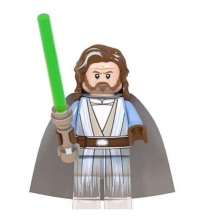 Boneco Luke Skywalker Star Wars Lego Compatível