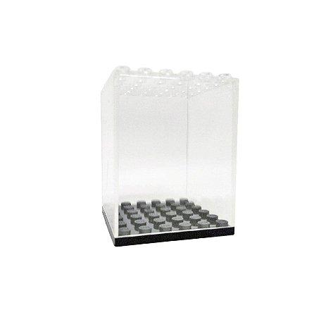 Expositor de Minifiguras Individual Compatível Lego