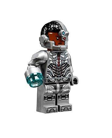 Boneco Cyborg Lego Compatível - Dc Comics (Edição especial)
