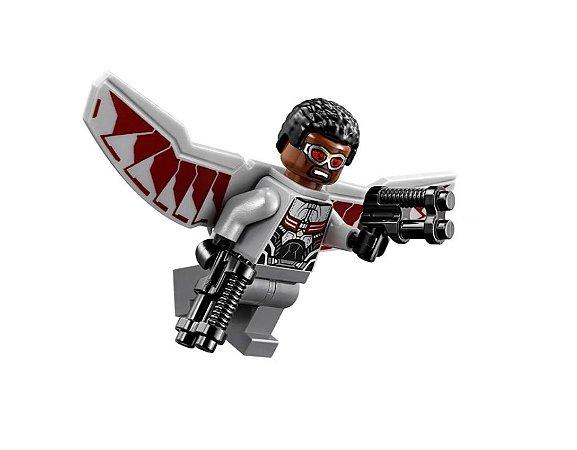 Boneco Falcão Lego Compatível - Marvel