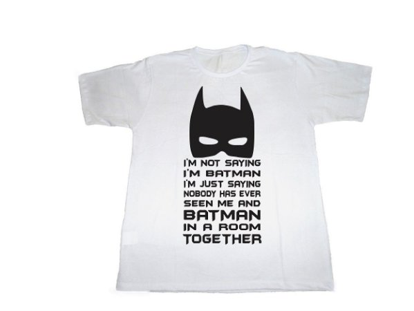 Camiseta I'm not Batman - Masculina