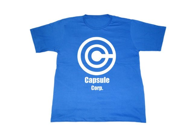 Camiseta Dragon Ball Capsule Corp - Masculina