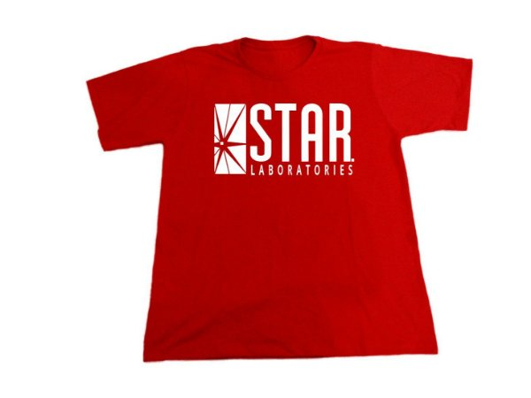 Camiseta Flash Star Labs - Masculina