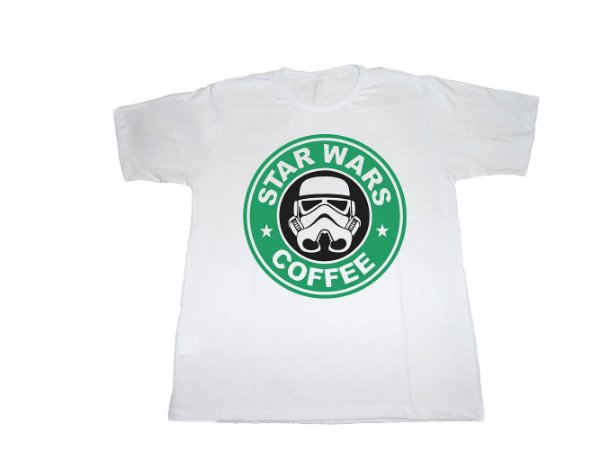 Camiseta Star Wars (Star Bucks) - Masculina