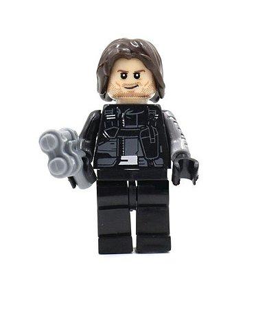 Mini Figura Compatível Lego Soldado Invernal - Marvel