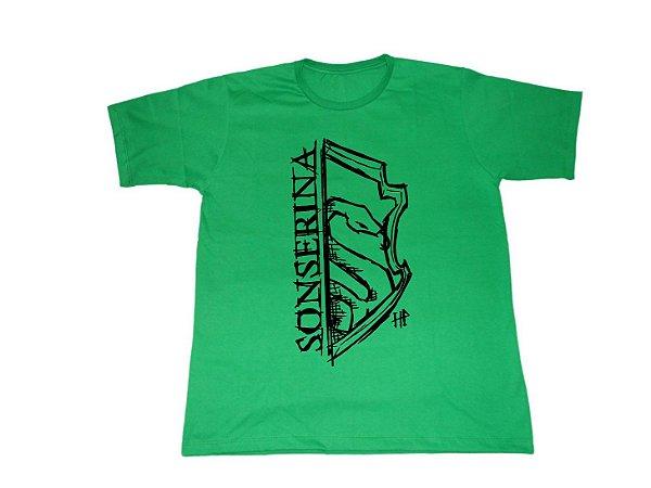 Camiseta Sonserina Harry Potter - Masculina