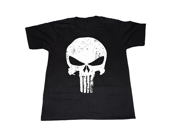 Camiseta Justiceiro - Masculina