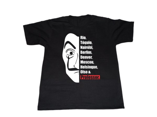 Camiseta La Casa de Papel - Masculina