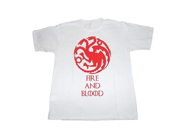 Camiseta Game Of Thrones Targaryen - Masculina