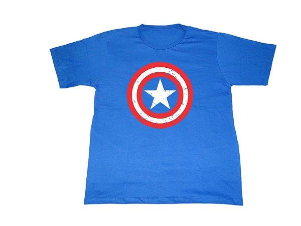 Camiseta Capitão América - Masculina