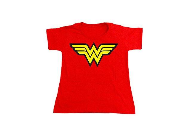 Camiseta Mulher Maravilha - Baby Look