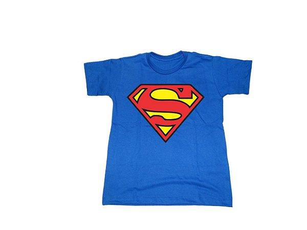 Camiseta Super Heróis Superman - Infantil