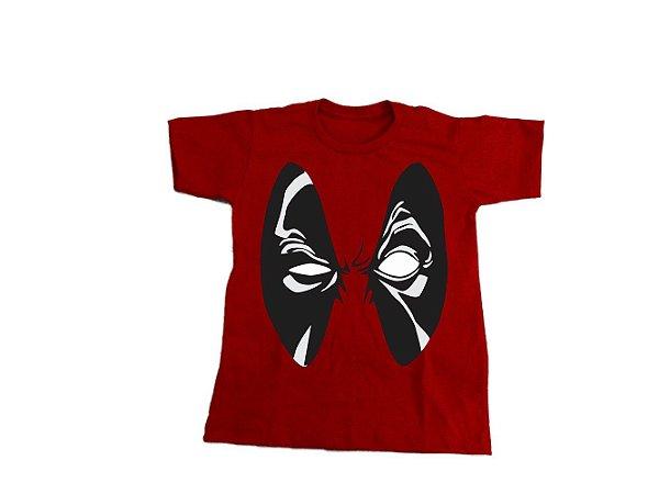 Camiseta Super Heróis Deadpool - Infantil