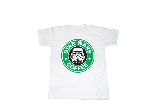 Camiseta Star Wars Star Bucks - Infantil