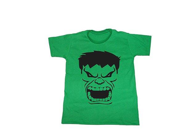 Camiseta Super Heróis Hulk - Infantil