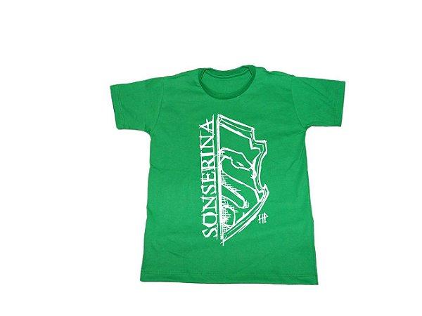 Camiseta Harry Potter Sonserina - Infantil
