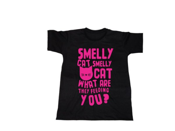 Camiseta Friends Smelly Cat- Infantil