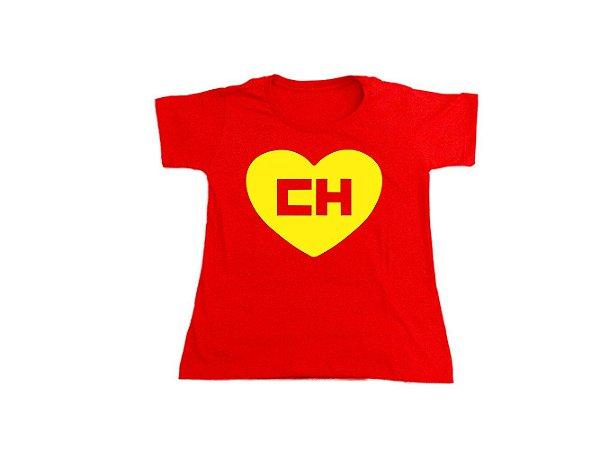 Camiseta Chapolin - Baby Look