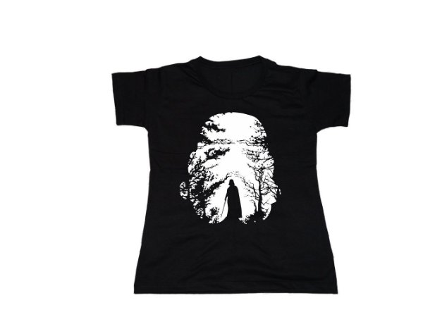 Camiseta Star Wars Dark Forest - Baby Look