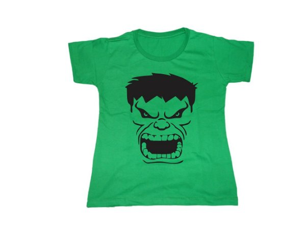 Camiseta Hulk - Baby Look