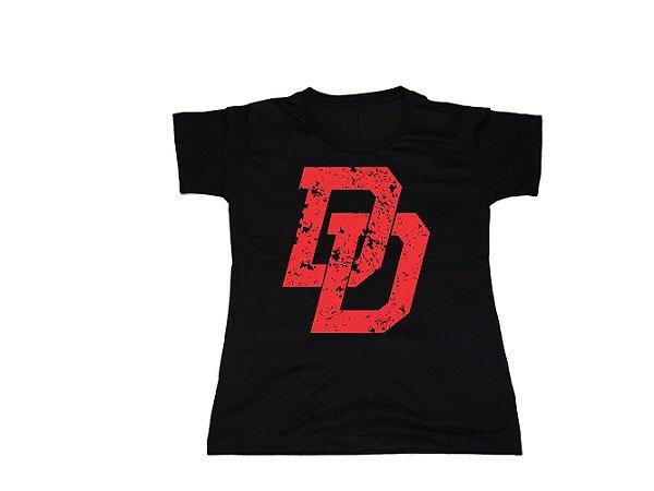 Camiseta Super Heróis Demolidor - Baby Look