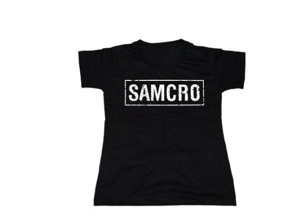 Camiseta Sons Of Anarchy - Baby Look