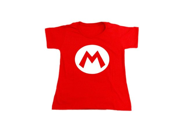 Camiseta Super Mario Bros - Baby Look