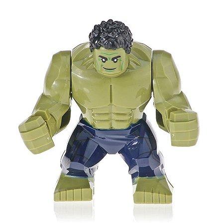 Boneco Hulk Lego Compatível - Marvel (Big Figure)