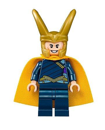 Boneco Loki Lego Compatível - Marvel